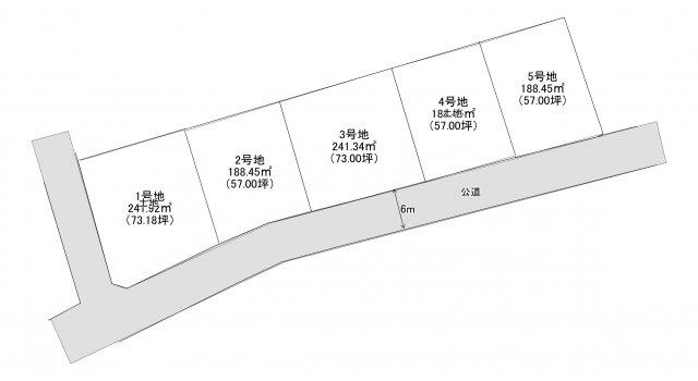 【区画図】大崎売り土地