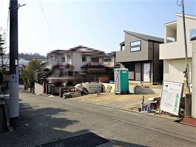 【前面道路含む現地写真】《》神戸市垂水区本多聞6丁目 1号地 新築戸建