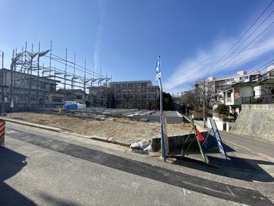 【前面道路含む現地写真】神戸市垂水区多聞台4丁目 1号地 新築戸建