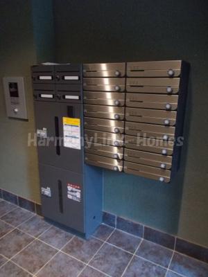 キャスバルクオーレ田端の郵便ポスト&宅配ボックス