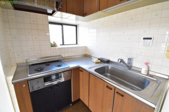 【キッチン】桶川市東2丁目 中古マンション ビューパレー桶川東