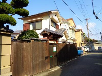 【外観】針中野3戸建て貸家