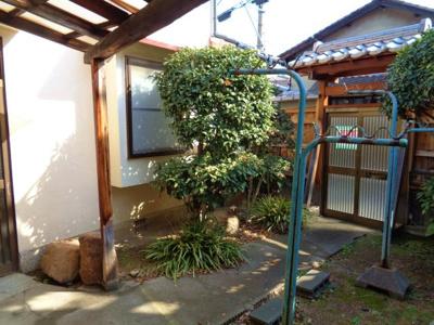 【庭】針中野3戸建て貸家
