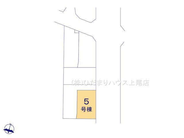 【区画図】上尾市小泉7丁目 2期 新築一戸建て 05