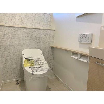 【トイレ】甲子園町 新築一戸建(2号地)