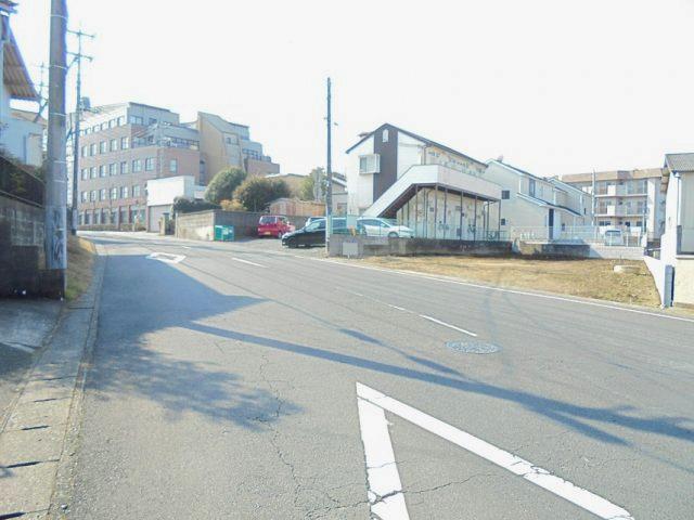 【前面道路含む現地写真】石川4丁目土地