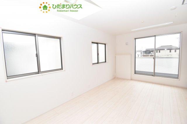 【寝室】上尾市小泉8丁目 新築一戸建て 03
