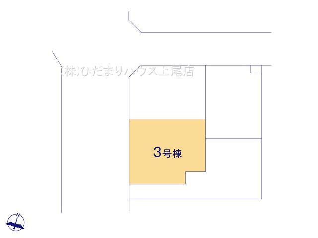 【区画図】上尾市小泉8丁目 新築一戸建て 03