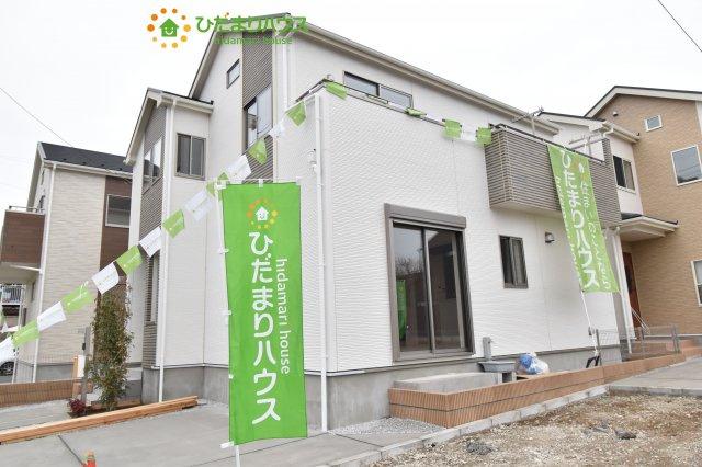 【外観】上尾市小泉8丁目 新築一戸建て 03