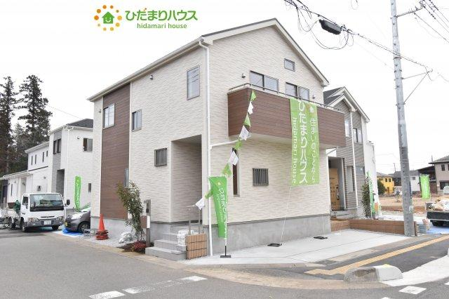 【外観】上尾市小泉8丁目 新築一戸建て 04