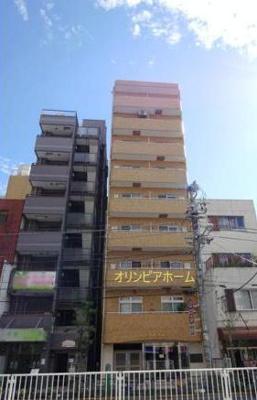 【外観】ライオンズマンション錦糸町第6 9階 最 上階 リ ノベーション済
