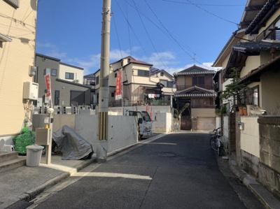 【外観】堺市西区平岡町 新築戸建て 2区画