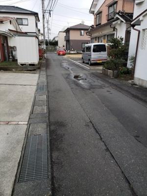 【前面道路含む現地写真】鳥取市立川町6丁目土地