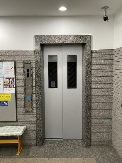 リバーウエストC館:エレベーターがありお部屋までの移動も楽々!