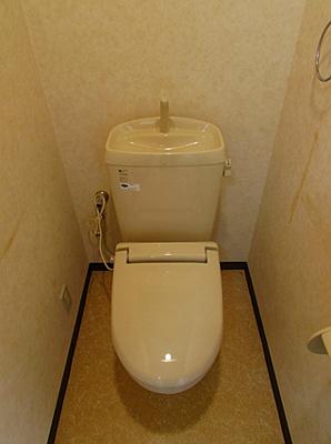 【トイレ】ヴィラ神戸3