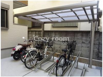 自転車置き場(現況と異なる場合は、現況を優先します。)