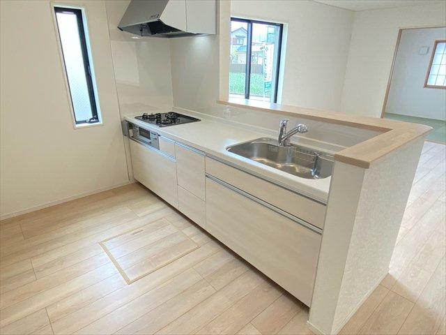 【キッチン】新築一戸建て「山北町岸第9」全2棟/残1棟