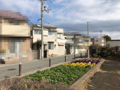 【前面道路含む現地写真】神戸市垂水区清水通 売土地