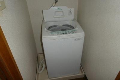 洗濯機置き場(洗濯機付き)