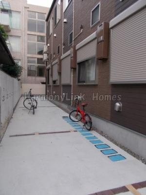ハーモニーテラス高松Ⅱの駐輪スペース☆