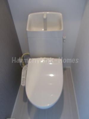 ハーモニーテラス高松Ⅱの清潔感のあるトイレです(別部屋参考写真)★