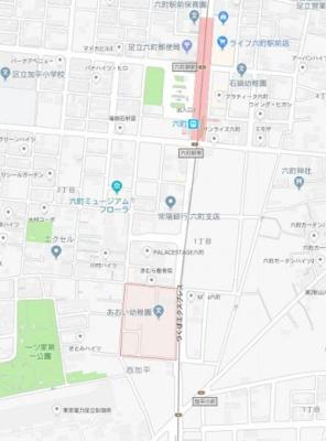 【地図】アイヴィラ六町
