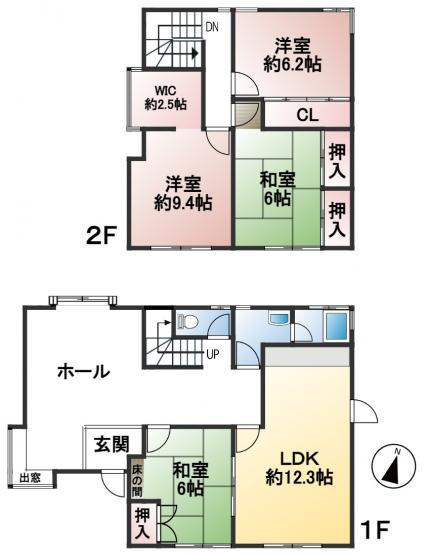 土地面積217.11㎡ 建物面積114.84㎡ 4LDK