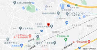 【地図】別所中の町テラスハウス (株)Roots