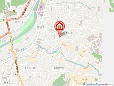 【地図】ファミール三好・