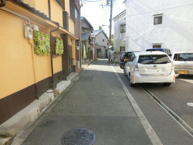 【前面道路含む現地写真】千本中1丁目新築