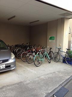 駐輪場は無料でご利用いただけます