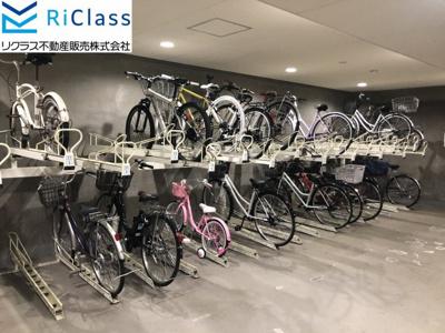【駐輪場】グランパレ神戸ハーバーウエスト