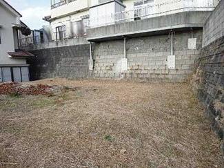 【前面道路含む現地写真】広島市安佐南区伴北5丁目 第二共進ハイツ 土地