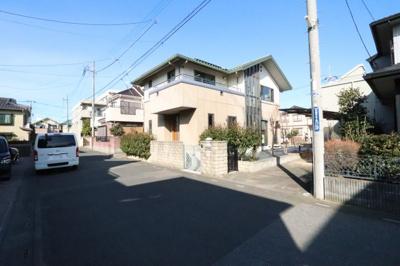 前面道路含む現地写真です 三郷新築ナビで検索
