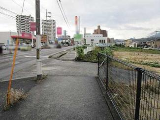 【前面道路含む現地写真】広島市安佐南区伴東7丁目