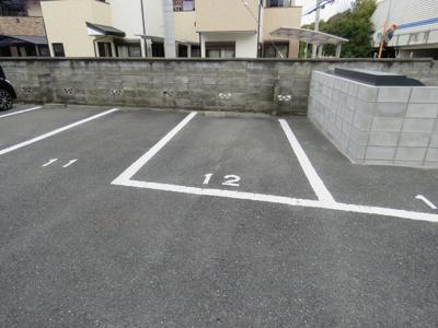 【駐車場】霜月荘