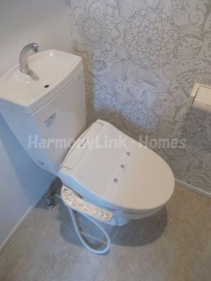 ハーモニーテラス南小岩Ⅳのトイレ