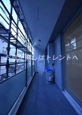 【バルコニー】レジディア新川