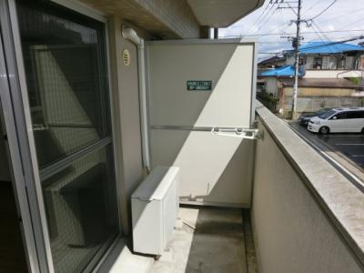 【バルコニー】ピーコムコガ