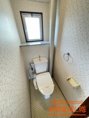 【トイレ】サンコーポラスⅢ