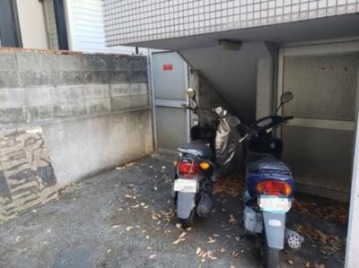 駐輪場☆神戸市垂水区 プラザ学園南☆