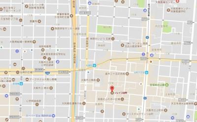 【地図】ソレイユ谷町