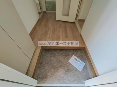 【玄関】メゾンウィステB棟
