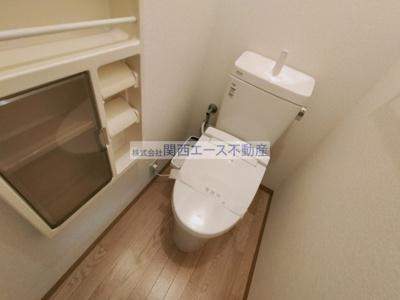 【トイレ】メゾンウィステB棟