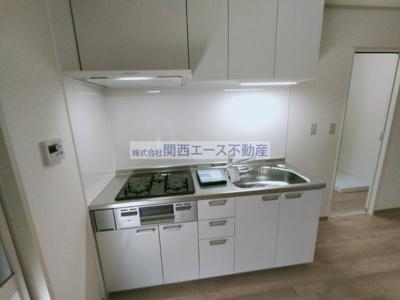【キッチン】メゾンウィステB棟