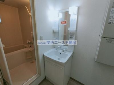 【洗面所】メゾンウィステB棟