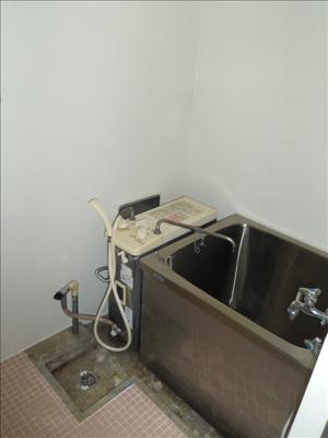【浴室】第1コーポ小菅