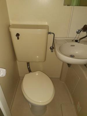 【トイレ】コーポジョイフル