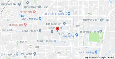 【地図】川添ロイヤルハイツ (株)Roots