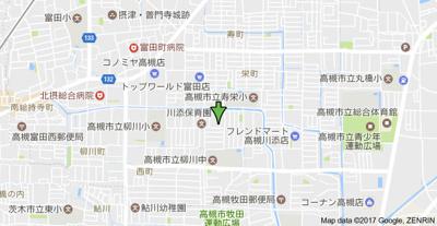 【地図】コーポ松政 (株)Roots